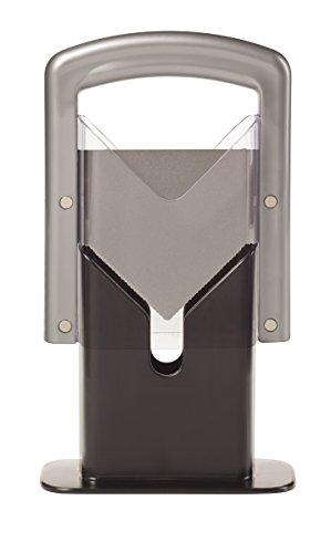 Hoan The Original Bagel Guillotine Universal Slicer, Silver, 9.25-Inch...
