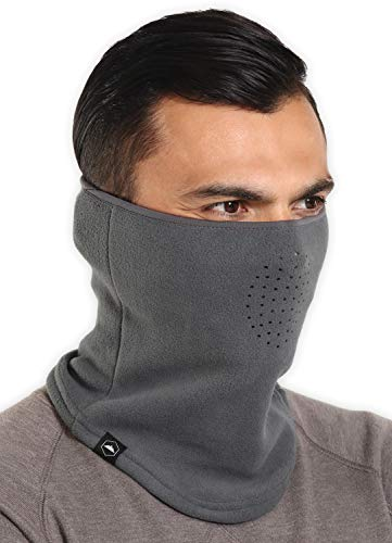 Winter Fleece Neck Gaiter - Face Mask/Half Balaclava for Cold Weather...