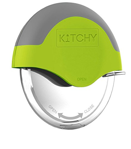 Kitchy Pizza Cutter Wheel - Super Sharp and Easy To Clean Slicer,...