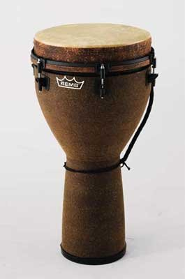 Remo DJ-0014-05 Mondo Djembe Drum - Earth, 14'