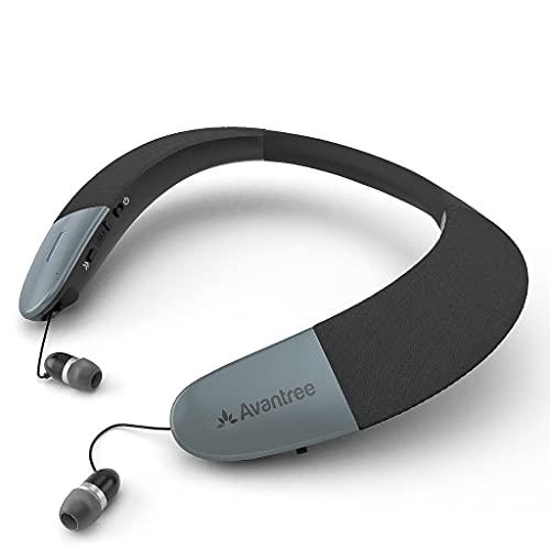 Avantree Torus Wearable Wireless Neck Speaker, Bluetooth 5.0, aptX HD,...