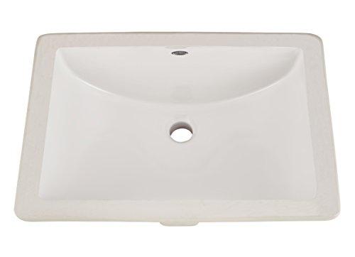 American Standard 0614000.020 Studio Ceramic Undermount Rectangular...