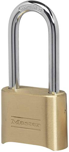 Master Lock 175DLH Set Your Own Combination Padlock 2-1/4 in. Shackle...