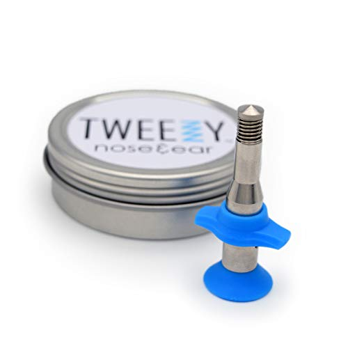The TWEEZY Nose Hair & Ear Hair Remover. Designed for Hair Removal in...
