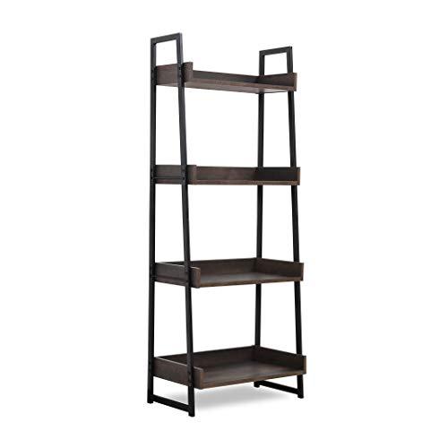 Sekey Home Ladder Shelf, 4-Tier Bookshelf | Book Case, Storage Rack...