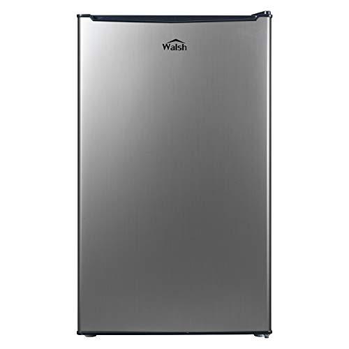 Walsh WSR35S1 Compact Refrigerator, Single Door Fridge, Adjustable...