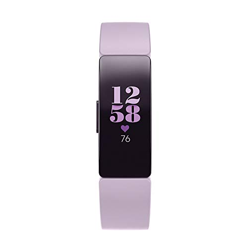Fitbit Inspire HR Heart Rate and Fitness Tracker, One Size (S and L...