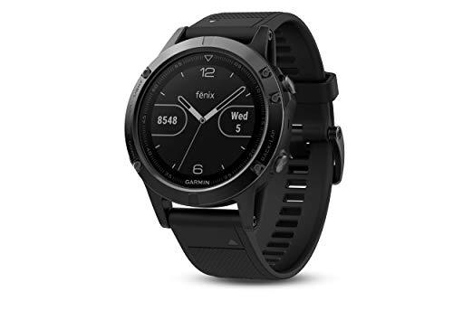 Garmin fēnix 5, Premium and Rugged Multisport GPS Smartwatch, Slate...