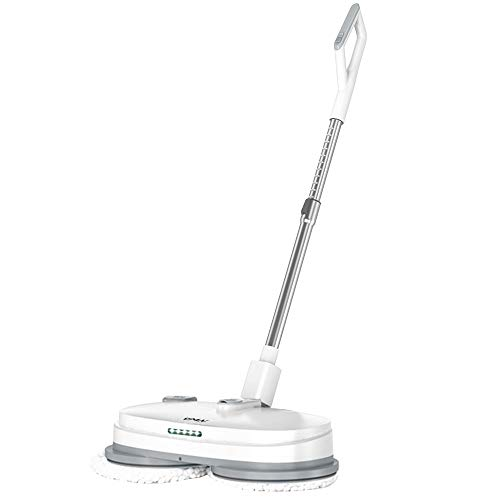Electric Mop, Cordless Electric Spin Mop, Hardwood Floor Cleaner with...