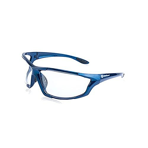 Smith & Wesson Major Full Frame Shooting Glasses with No-Slip Rubber,...