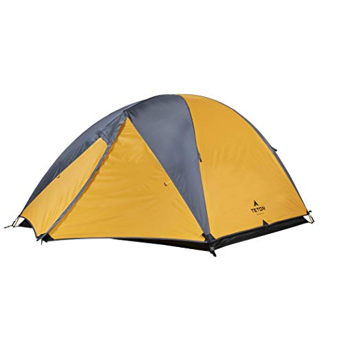 TETON Sports Mountain Ultra Tent; 3 Person Backpacking Dome Tent for...