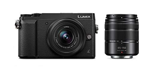 Panasonic LUMIX GX85 4K Digital Camera, 12-32mm and 45-150mm Lens...