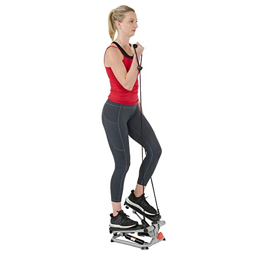 Sunny Health & Fitness Total Body Step Machine SF-S0978, Gray