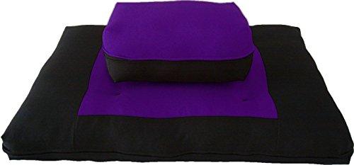D&D Futon Furniture Zabuton Zafu Set, Yoga, Meditation Seat Cushions,...