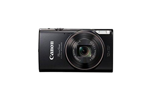 Canon PowerShot ELPH 360 Digital Camera w/ 12x Optical Zoom and Image...