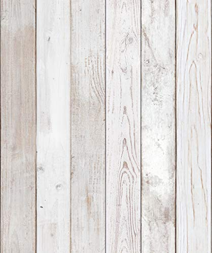Reclaimed Wood Distressed Wood Panel Wood Grain Self-Adhesive...