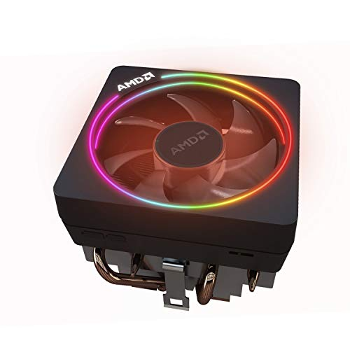 AMD Wraith Prism LED RGB Cooler Fan from Ryzen 7 2700X Processor...