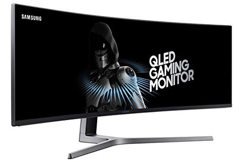 Samsung 49-Inch CHG90 144Hz Curved Gaming Monitor (LC49HG90DMNXZA) –...