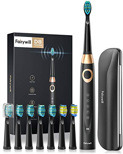 Fairywill Electric Toothbrush for Adults and Kids Accepted by American...