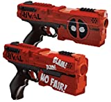 Hasbro - Rival Deadpool Kronos XVIII-500 Blasters (2-Pack) - Red And...