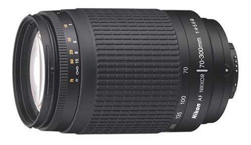 Nikon 70-300 mm f/4-5.6G Zoom Lens with Auto Focus for Nikon DSLR...