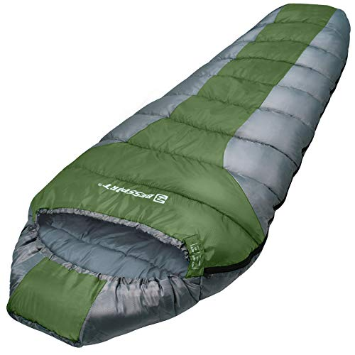 Bessport Lightweight Sleeping Bag 3 Season Mummy Sleeping Bags Water...