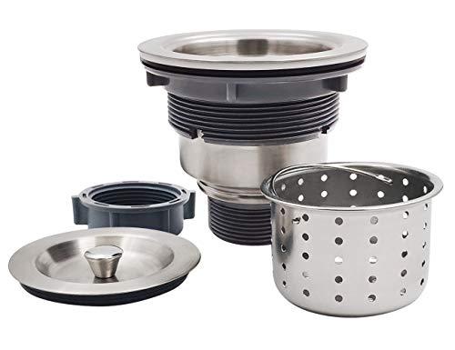 GZILA 3-1/2-Inch Kitchen Sink Strainer with Deep Waste Basket/Strainer...