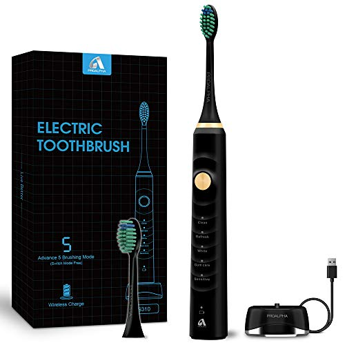Sonic Electric Toothbrushes for Adults, Rechargeable Whitening...