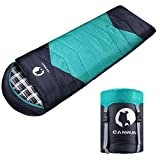 CANWAY Sleeping Bag with Compression Sack, Lightweight and Waterproof...