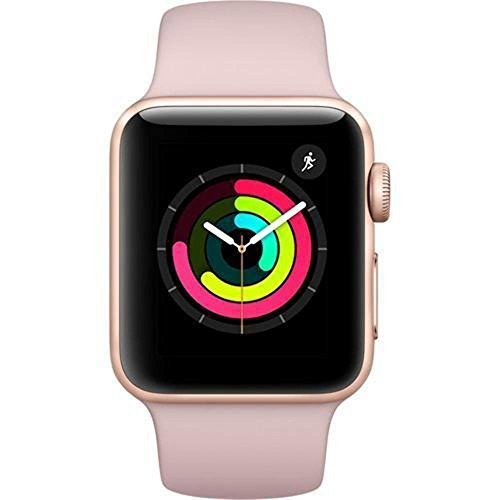 Apple Watch Series 3 (GPS, 38MM) - Gold Aluminum Case with Pink Sand...