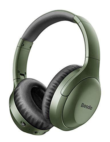 Active Noise Cancelling Headphones, Wireless Headphones Bluetooth...