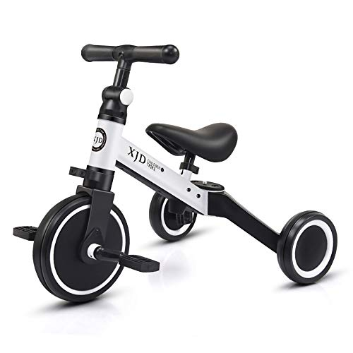 XJD 3 in 1 Kids Tricycles for 10 Month -3 Years Old Kids Trike 3 Wheel...