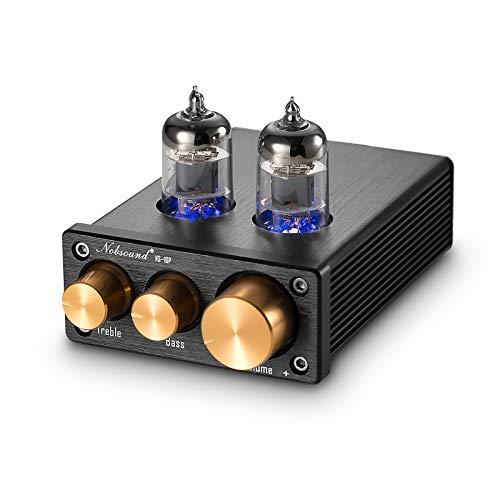 Nobsound NS-10P Mini Vacuum Tube Preamp Audio Hi-Fi Stereo...