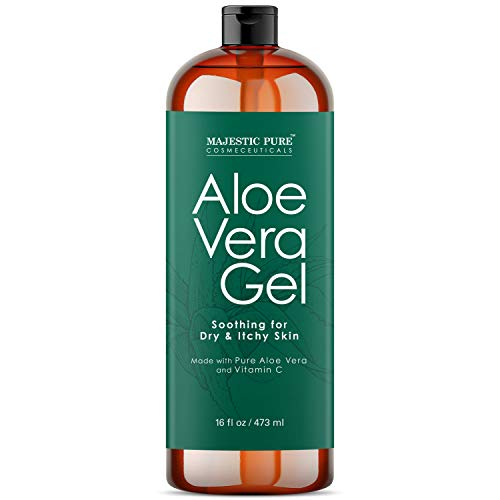 Majestic Pure Majestic Pure Aloe Vera Gel - From Pure and Natural Cold...