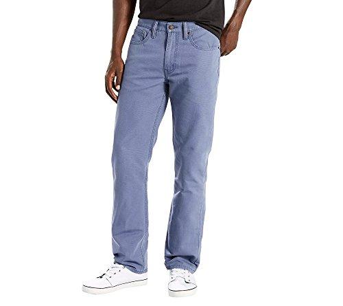 Levi's Men's 514 Straight Fit Jeans, Birdman Blue-Stretch, 34W x 32L