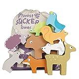 Le Toy Van - Wooden Petilou Forest Stacker Puzzle & Bag Educational...