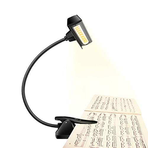 Professional Musician 3000K-6000K Super Bright 19 LED Music Stand...