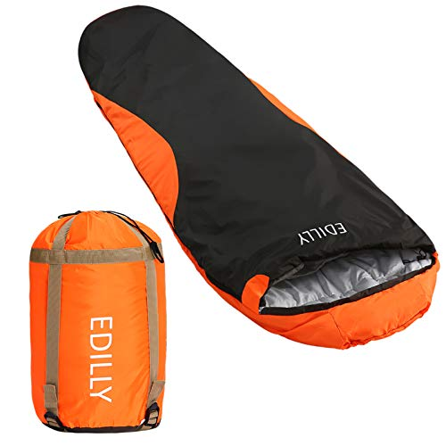 EDILLY Mummy Sleeping Bag, Backpacking Sleeping Bags for Adults and...