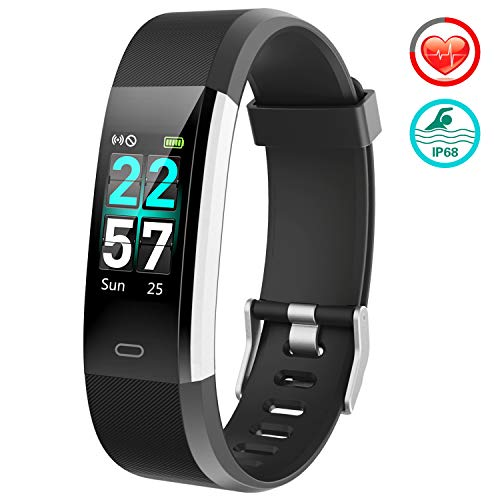 FITFORT Fitness Tracker Color Screen - 2020 Upgraded IP68 Activity...