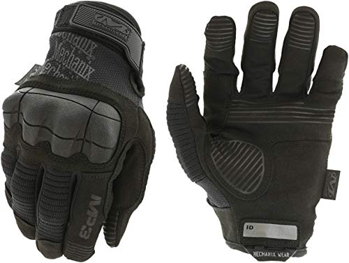 Mechanix MP3-55-010 M-Pact 3 Covert Gloves, Black, Large