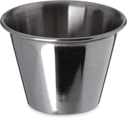 Carlisle 602500 Ramekin Dipping Sauce Cup, 2.5 oz, Stainless Steel...