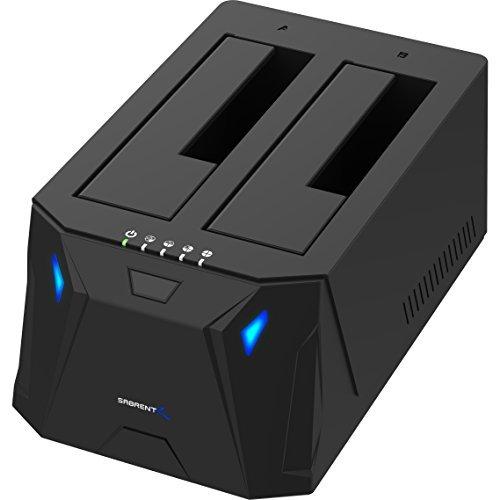 Sabrent USB 3.0 to SATA I/II/III Dual Bay External Hard Drive Docking...