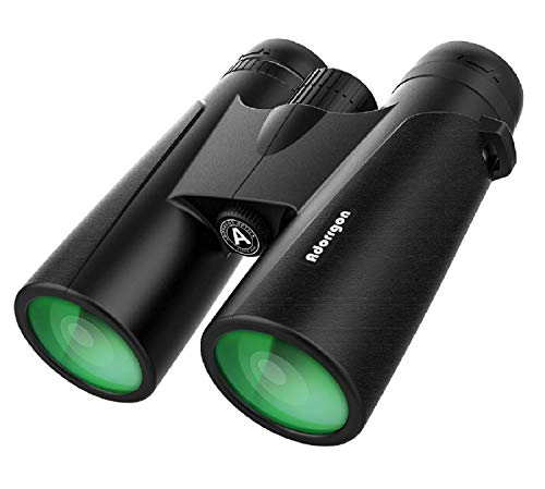 12x42 Binoculars for Adults with 18mm Large View Eyepiece & Clear Low...