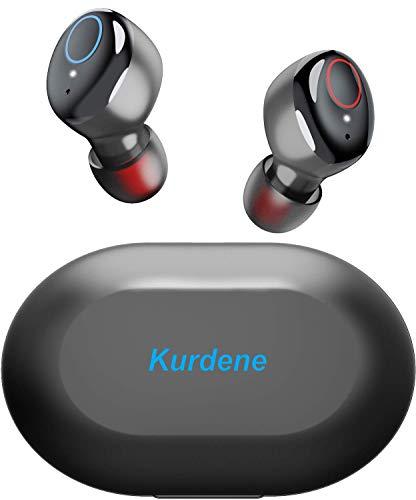 Kurdene Wireless Earbuds,Bluetooth Earbuds with Charging Case Bass...