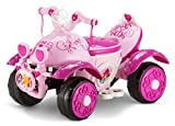 Kid Trax Toddler Disney Princess Electric Quad Ride On Toy, Kids 1.5-3...