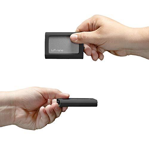 CalDigit Tuff Nano - Compact Rugged IP67 USB-C 3.2 Gen 2 10Gb/s...