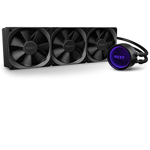 NZXT Kraken X73 360mm - RL-KRX73-01 - AIO RGB CPU Liquid Cooler -...