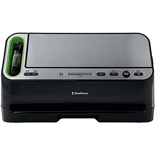 FoodSaver V4400 2-in-1 Vacuum Sealer Machine with Automatic Bag...