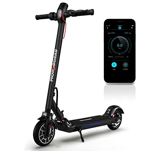 Folding Electric Scooter for Adults - 300W Brushless Motor Foldable...