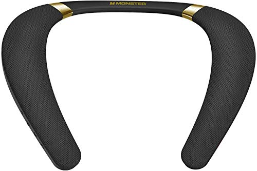 Monster Boomerang Neckband Bluetooth Speaker, Lightweight Wireless...